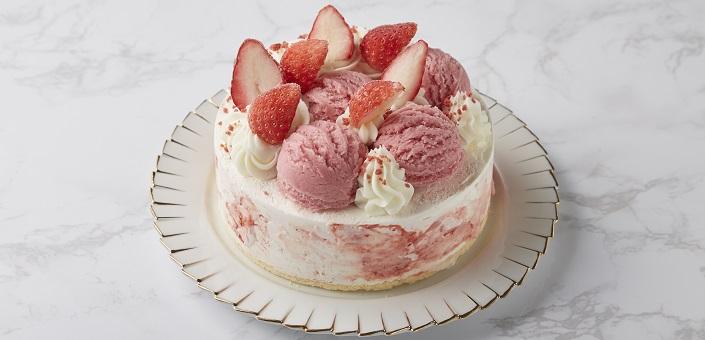 アイスケーキ ストロベリーチーズパイ 5号