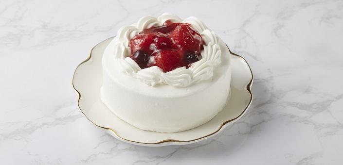 苺と木の実のショートケーキ 4号