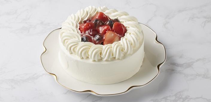 苺と木の実のショートケーキ 5号